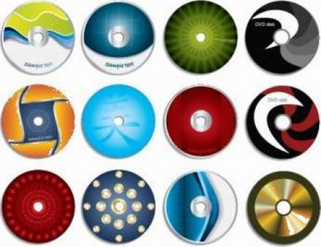 CD/DVD personalizat de la Essensia Design Srl