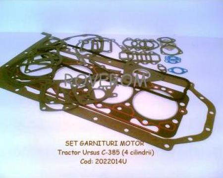 Set garnituri motor tractor Ursus C-385 (4 cilindrii)