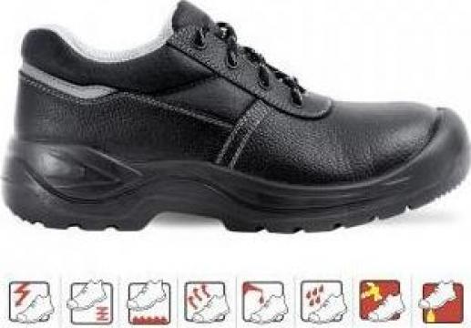 Pantofi de protectie cu bombeu composit S3