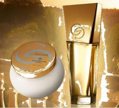 Set Parfum Giordani Gold Parfum 50 Ml Crema Corp 250 Ml