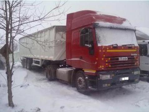 Camion Iveco Eurostar Cursor 440 + semiremorca cereale