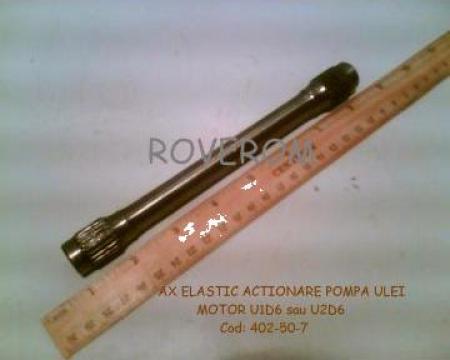 Ax elastic actionare pompa ulei motor D6, U2D6, B31M2