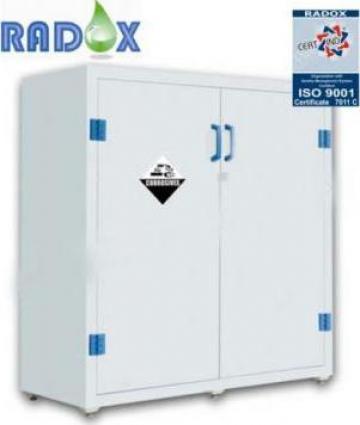 Dulap din PP pentru reactivi si substante chimice de la Radoxlab Grup Romania