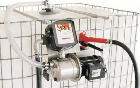 Pompa electrica transfer AdBlue pentru IBC 1000litri de la Eco Downstream Srl
