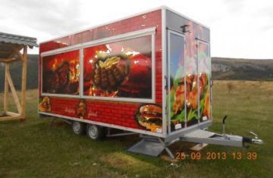 Rulota comerciala fast-food de la Demaron