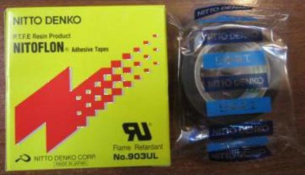 Banda teflon Nitto 903 UL 0,08mm x 15mm x 10000mm de la Baza Tehnica Alfa Srl