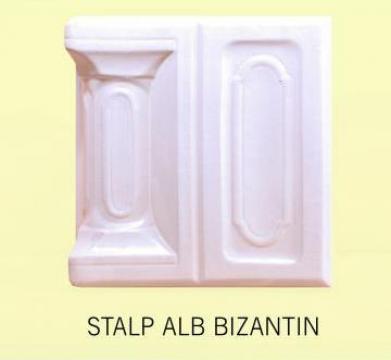 Cahle Stalp + placa pt. soba Alb Bizantin de la Fancris Srl