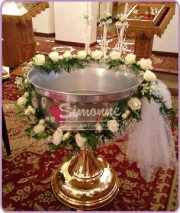 Aranjament cristelnita ghirlanda de la Simonne