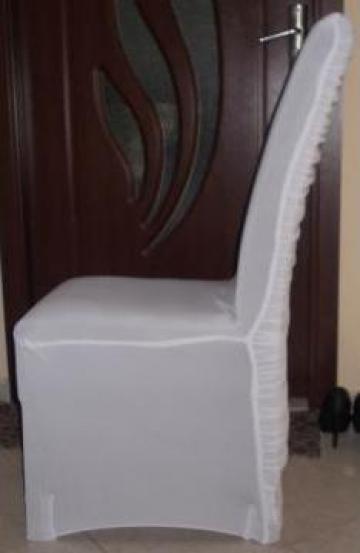 Huse de scaune licra alb de la Johnny Srl.