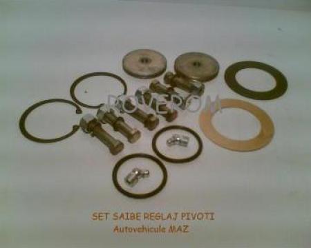 Saibe + sigurante reglaj pivot MAZ