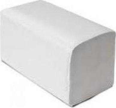 Servetele pliate in v albe 2 straturi de la Multinet Auto Srl