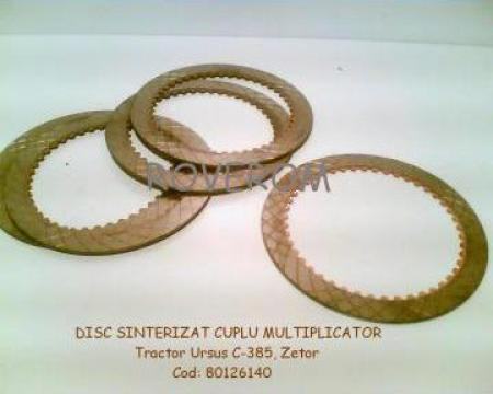 Disc sinterizat cuplu multiplicator tractor Ursus, Zetor