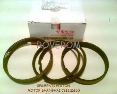 Segmenti piston Caterpillar 3306, Shanghai C6121, 120.65mm