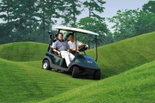 Masinute de transport pers. resort turistic si teren de golf