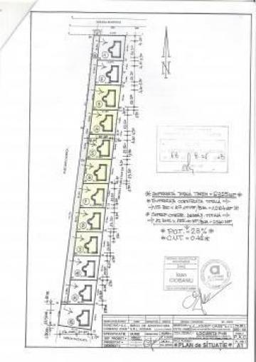 Parcele de pamant in cartier de vile Cotu Vames, Neamt de la Johny Cage Srl