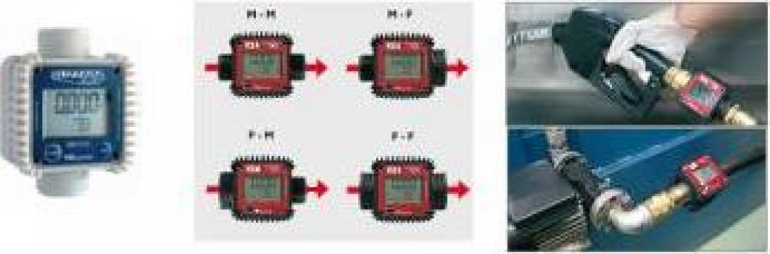Contor digital cu afisaj LCD cu 5 cifre de la Gasoil Line Srl Ro 2024580