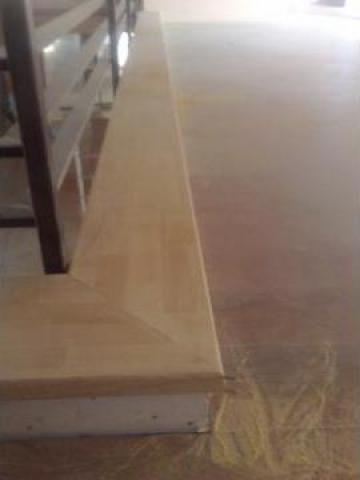 Montaj blaturi din lemn