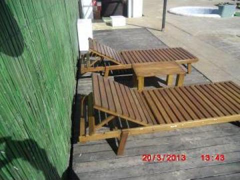 Sezlonguri plaja de la Curacao Pools Srl