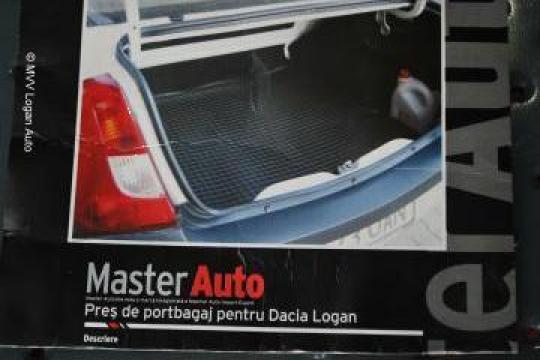 Pres tava portbagaj Dacia Logan