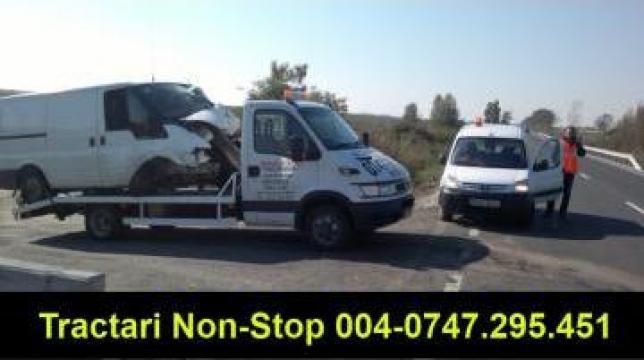 Tractari auto si inchirieri platforma de la Sc Auto Marianne Srl