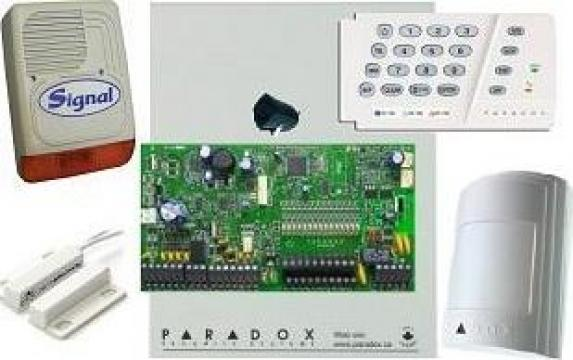 Sistem de alarma cu sirena de exterior