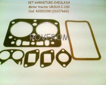 Set garnituri chiulasa motor tractor Ursus C-330