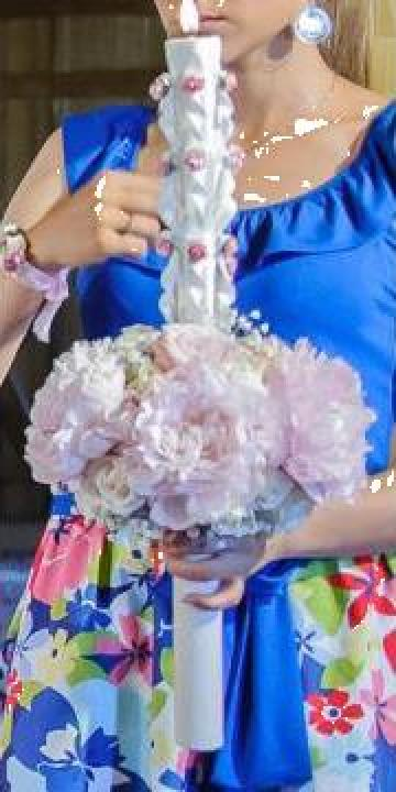 Lumanari nunta sau botez de la Flower Art