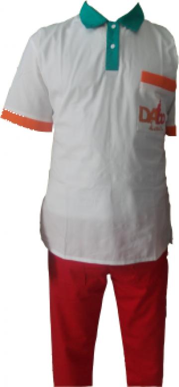 Uniforma de protectie fast food pizzerie de la Johnny Srl.