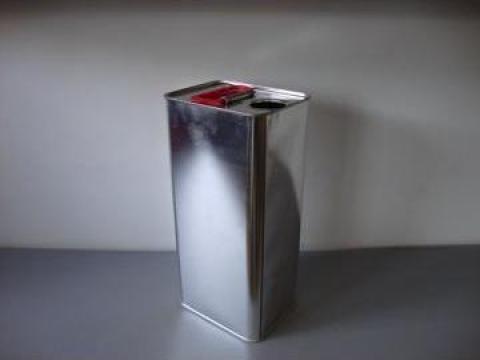 Cutie din metal cu capac de plastic 3l de la Iv Trading Ltd