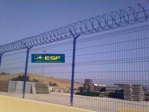 Sarma ghimpata concertina Nato de la European Security Fencing Srl