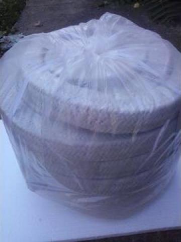 Snur fibra ceramica patrat