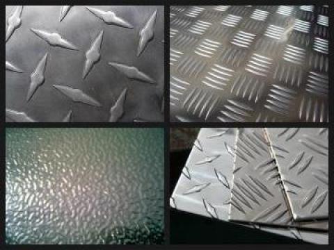 Tabla striata Diamond Aluminiu