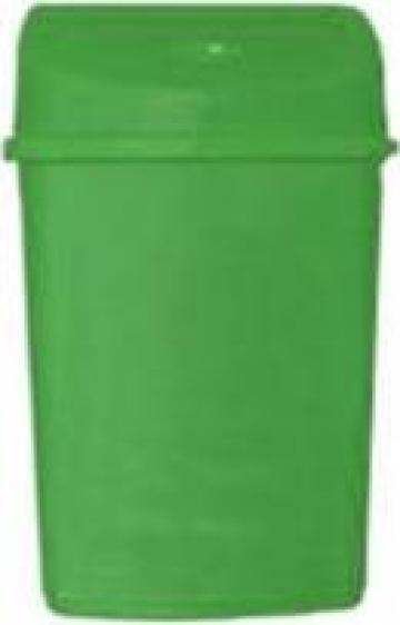 Cosuri gunoi colorate colectare selectiva 55 litri - Verde de la Electrotools