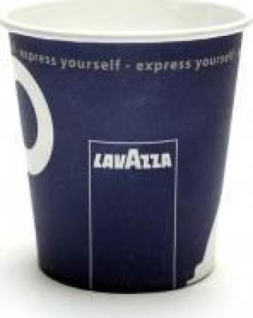 Pahare carton vending Lavazza 7oz de la Dair Comexim 2000 Srl