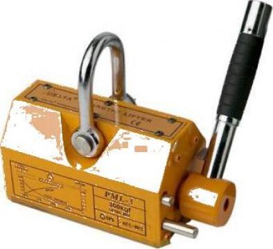 Magnet de ridicare 6000 kg de la Www.toplift.ro