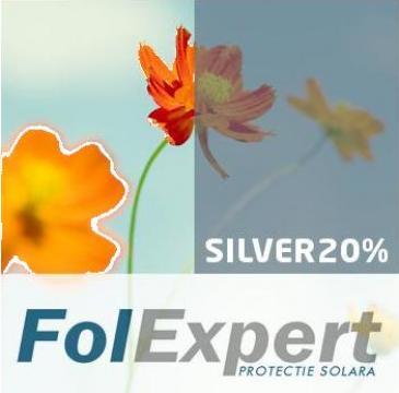 Folie termopan de protectie termica si solara Silver 20% de la FolExpert