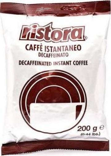 Cafea instant decofeinizata Ristora - 200 g de la Romeuro Service