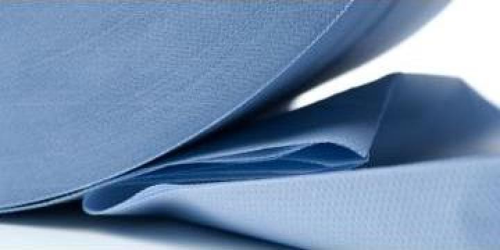 Hartie spalatorii albastra 3 straturi, 38cm H de la Teom Tech Srl