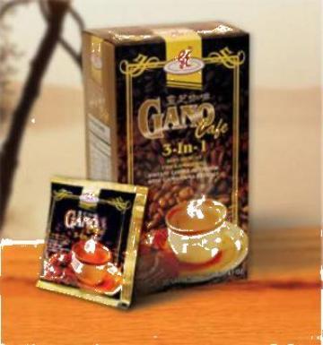 Cafea Gano Cafe 3 in 1 (100% natural) de la PFA Florea Florin Robertino