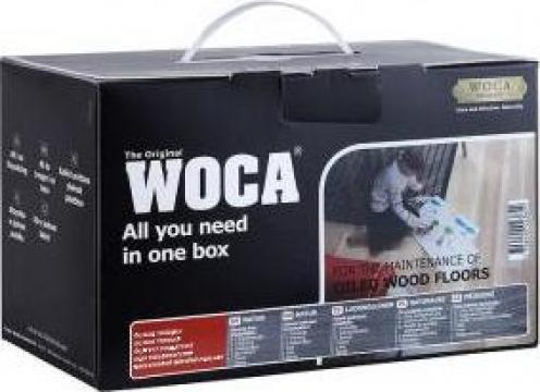 Kit pentru curatarea pardoselilor din lemn Maintenance Box