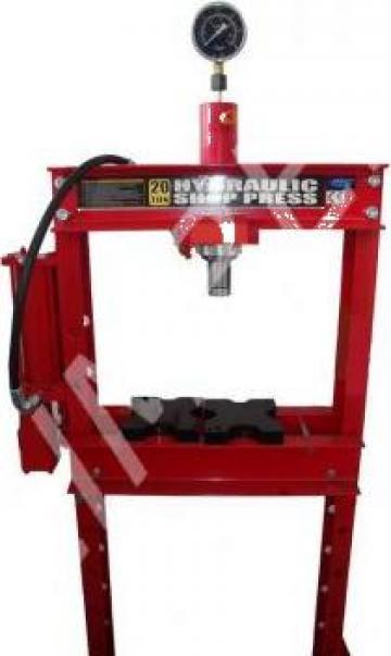 Presa hidraulica 20T de la Zimber Tools