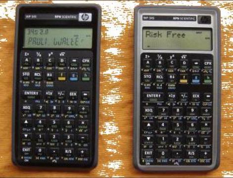 Calculator stiintific HP, WP 34S, RPN Scientific