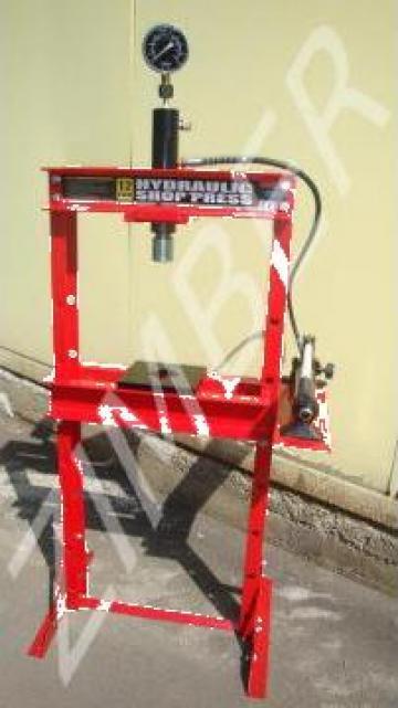 Presa hidraulica 12T de la Zimber Tools