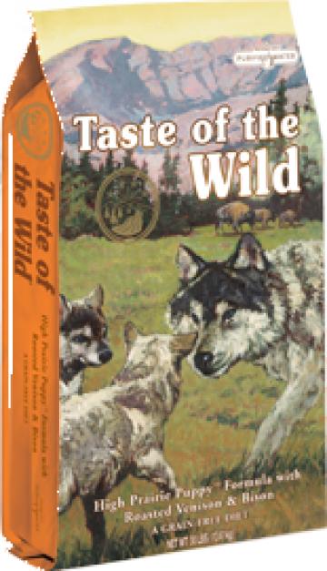 Hrana uscata caini Taste Of The Wild High Prairie Puppy