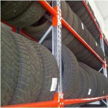 Rafturi metalice pentru anvelope