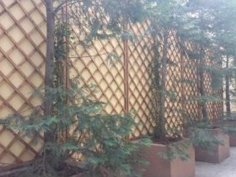 Gard ornamental (jardiniere)