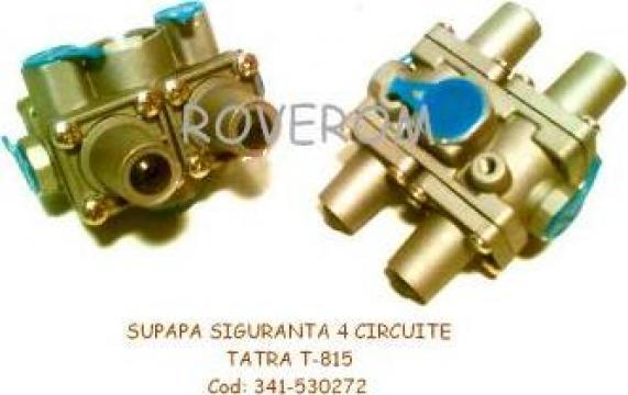 Supapa siguranta Tatra T815, DAF, Iveco (4 circuite) de la Roverom Srl