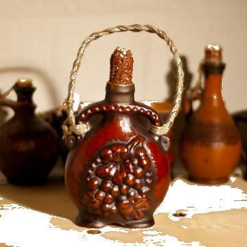 Plosca ceramica traditionala Maramures