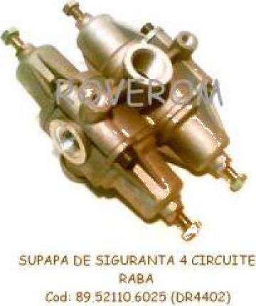 Supapa siguranta 4 circuite Raba, Man, DR4402 de la Roverom Srl