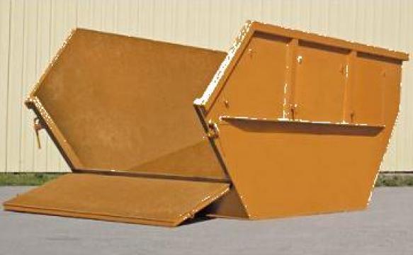 Container Skip Absetz cu perete rabatabil 7mc de la Edmarom Prod 2007 Srl